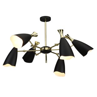 Brayden Studio Dority 6-Light Shaded Chandelier