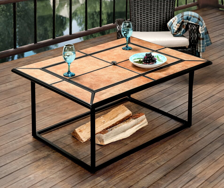 Belrouge Cast Iron Fire Pit Table