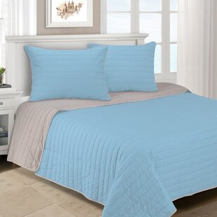 Lynnhaven 3 Piece Reversible Quilt Set