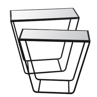Hollis 2 Piece Nesting Tables by Williston Forge Great price