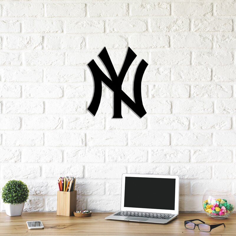 Decorotika New York Yankees Metal Wall Décor   Wayfair