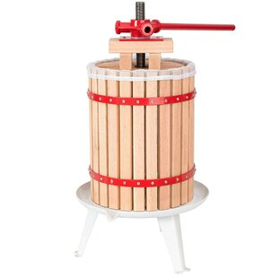 Apple Grade Crusher Fruit and Wine Oak Press Juicer
