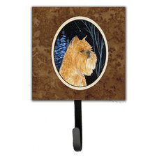 Starry Night Brussels Griffon Leash Holder and Key Hook by Caroline's Treasures