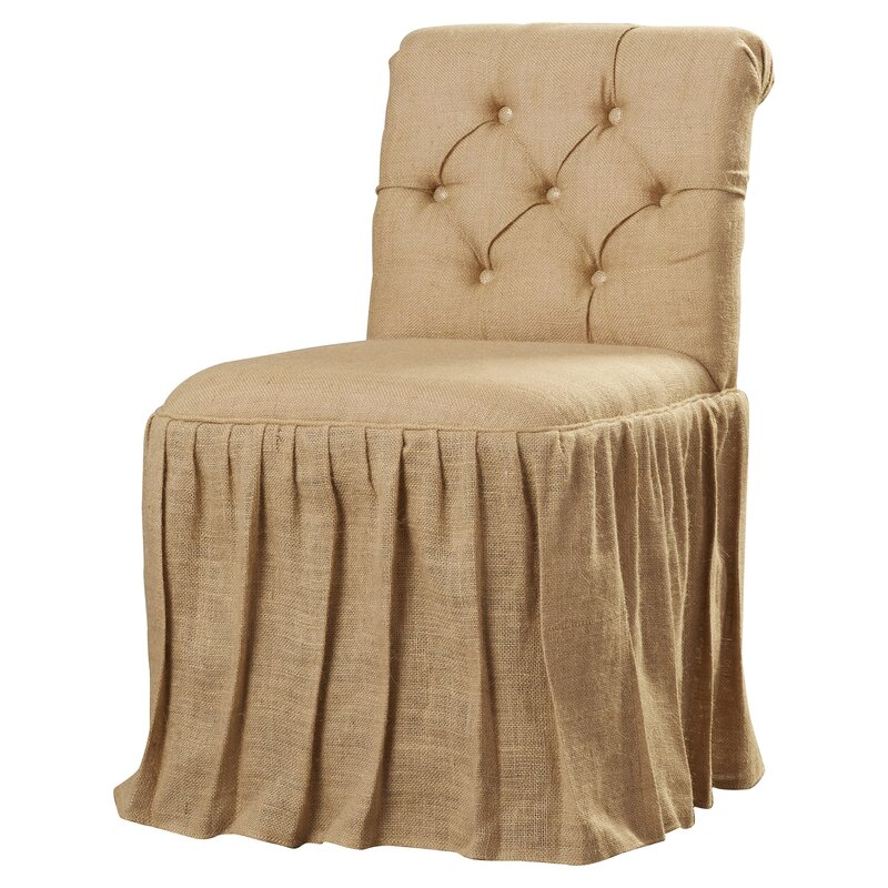 Allie Tufted Vanity Chair & Reviews | Joss & Main