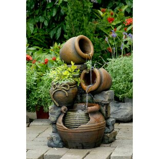 Fibreglass Resin Outdoor Fountains You Ll Love In 2021 Wayfair Ca