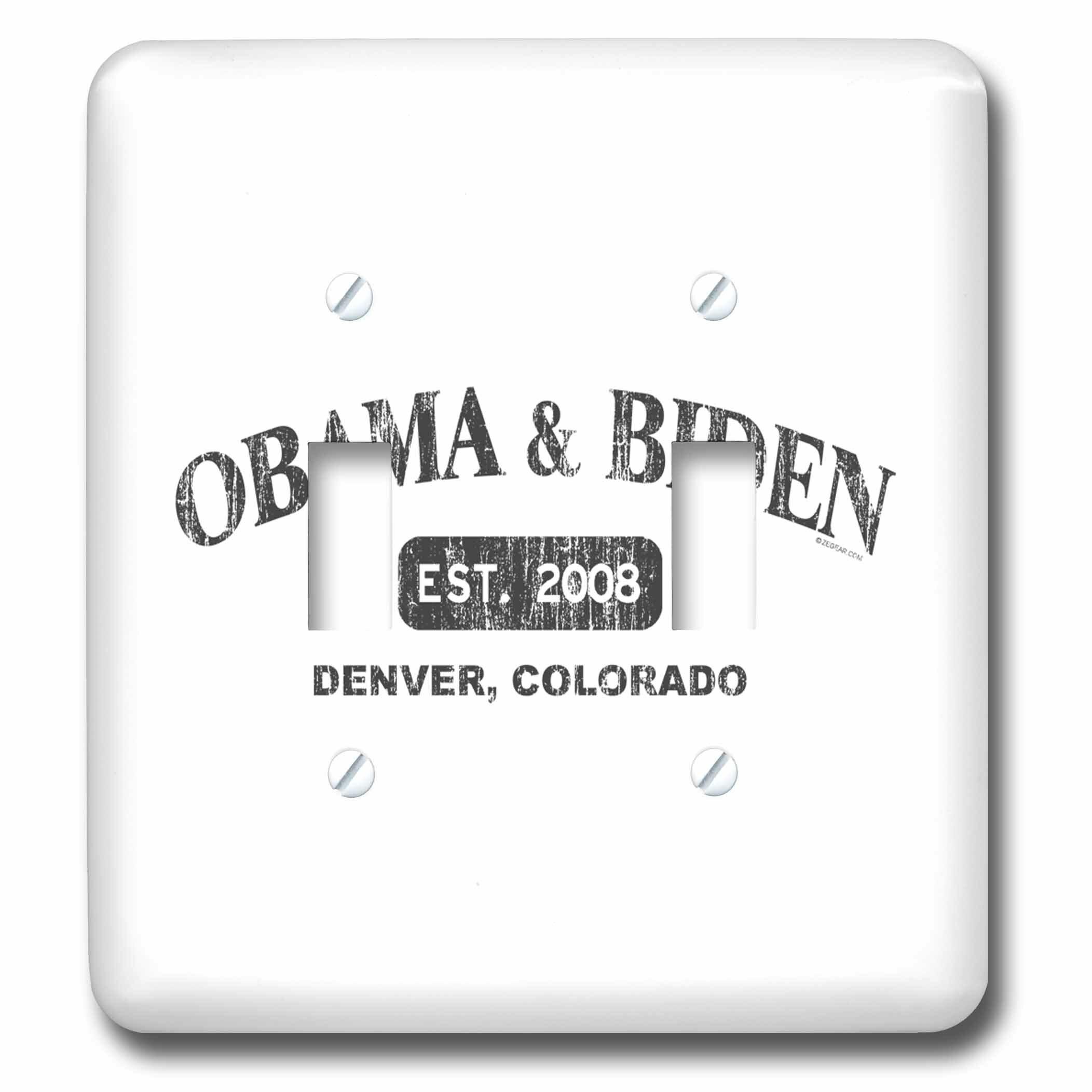 3drose Obama Biden 2 Gang Toggle Light Switch Wall Plate Wayfair