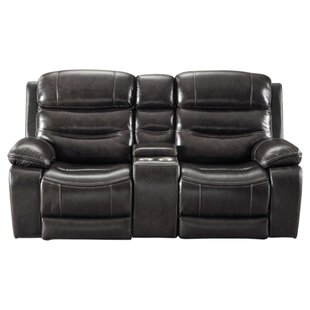 Sigourney Reclining Loveseat by Red Barre..