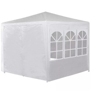 7 Ft. W x 7 Ft. D Metal Patio Gazebo by VidaXL