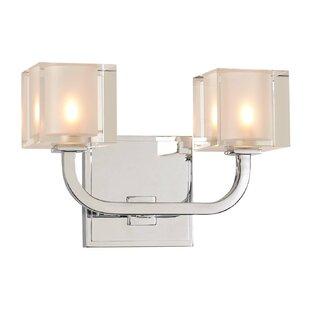 Kalco Arcata 2-Light LED Vanity Light