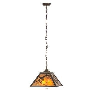 Meyda Tiffany Whispering Pines 2-Light Pendant