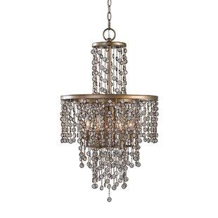 Barrera 6-Light LED Crystal Chandelier by House of Hampton