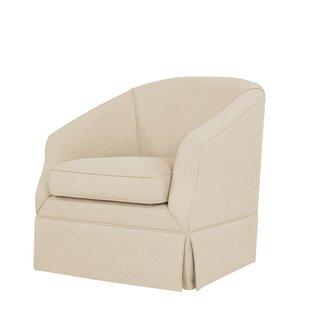 Latitude Run Clipper Swivel Club Chair