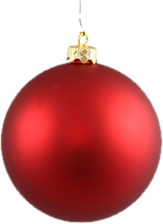 Christmas Tree Pink Ornaments