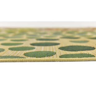 Ronda Beige Indoor/Outdoor Area Rug