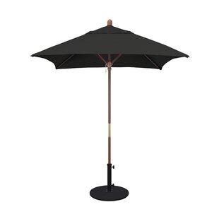 Burl 6' Square Market Umbrella by Beachcrest Home