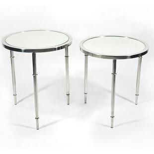 Veris 2 Piece Nesting Tables by RMG Fine ..