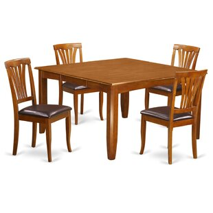 Parfait 5 Piece Extendable Dining Set Wooden Importers