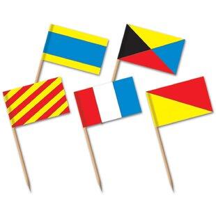 Nautical Flag Picks (Set of 12)