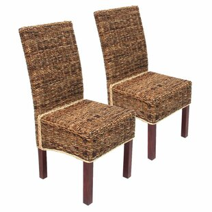 Okapi Upholstered Dining Chair (Set Of 2) By Bay Isle Home