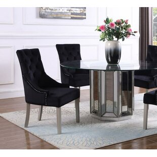 Tadley Upholstered Side Chair (Set of 2) by Everly Quinn