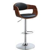 Saavedra Swivel Adjustable Height Bar Stool by Corrigan Studio®