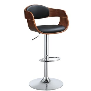 Saavedra Swivel Adjustable Height Bar Stool