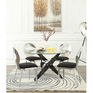 Hartzler 5 Piece Dining Table Set