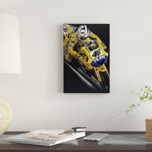 'Rossi' Graphic Art Print on Canvas By East Urban Home