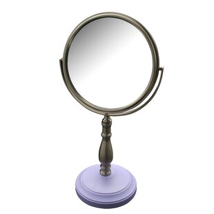 Winston Porter Alden Freestanding Bath Magnifying Makeup Mirror