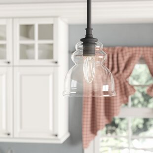 Laurel Foundry Modern Farmhouse Arla 1-Light Bell Pendant