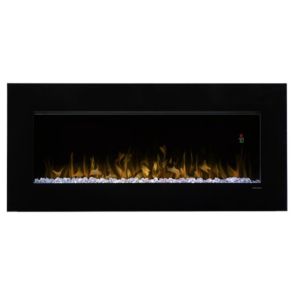 Slim Wall Mount Electric Fireplace Part - 33: Nicole Wall Mount Electric Fireplace