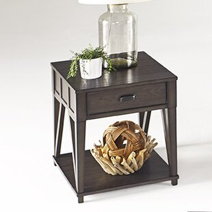 Clark Fork End Table by August Grove