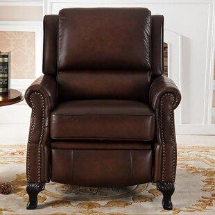 Masha Leather Manual Recliner
