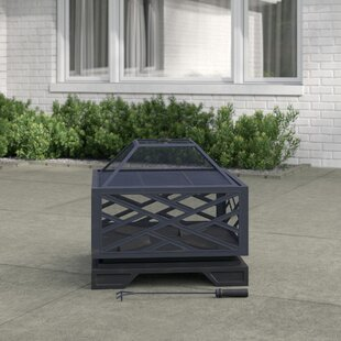 Kyler Steel Wood Burning Fire Pit By Sol 72 Outdoor