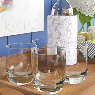 Josephine Unbreakable Shatter Resistant 15 Oz. Plastic Drinking Glass (Set Of 4) By Modern Rustic Interiors