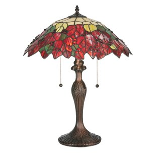 Poinsettia 22 Table Lamp