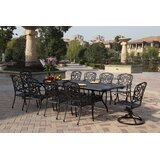 Battista 11 Piece Dining Set with Cushions