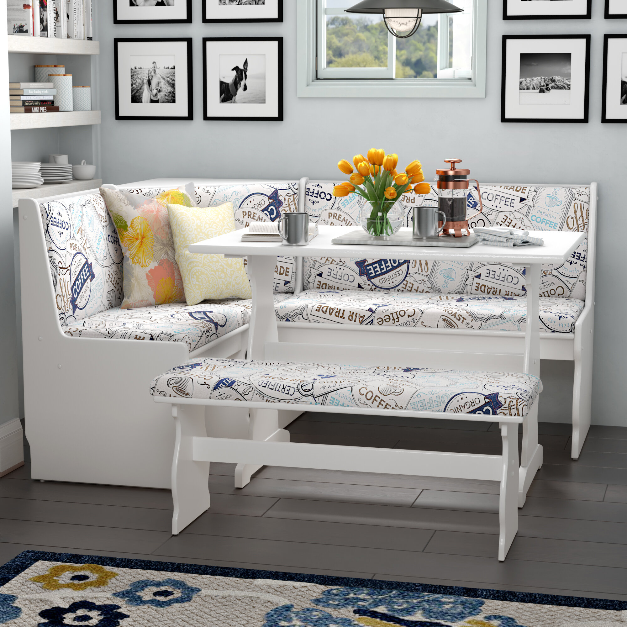 Banquette Seating Kitchen Sets Wayfair