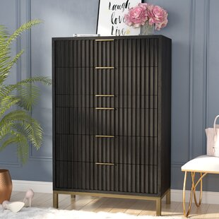Willa Arlo Interiors Holford 6 Drawer Chest