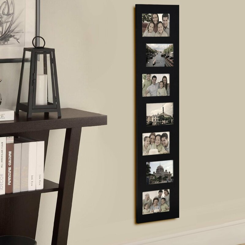 Adecotrading 7 Opening Decorative Offset Wall Hanging Collage Picture Frame Reviews Wayfair
