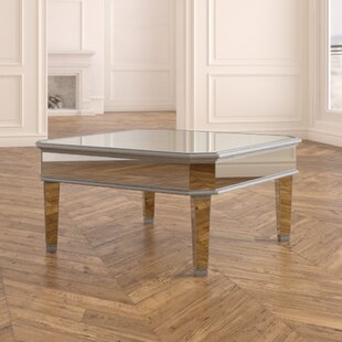 Orpha Glass Top Coffee Table by Rosdorf P..