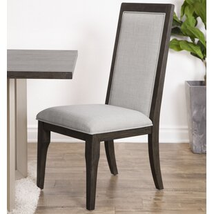 Mifley Upholstered Dining Chair (Set of 2) Wrought Studio