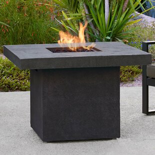 Real Flame Ventura Concrete Propane Fire Pit Table