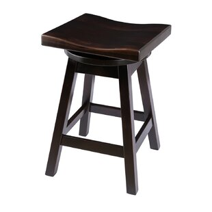 Campton 30 Swivel Bar Stool Loon Peak