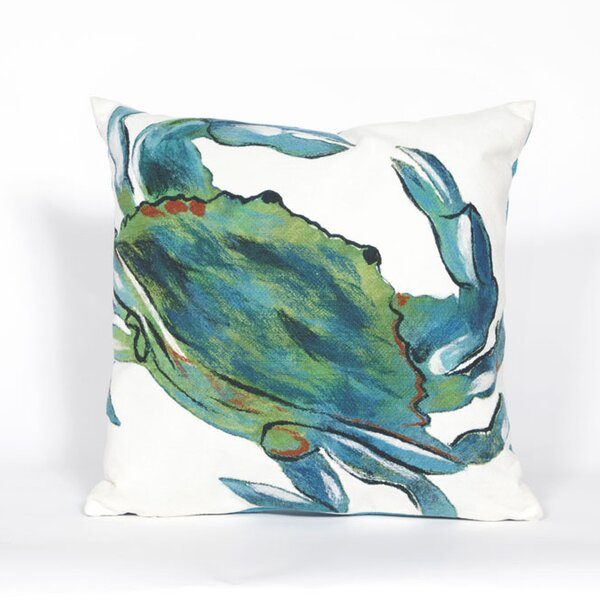 Blue Crab Pillow Wayfair