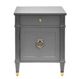 2 Drawer End Table by Worlds Away