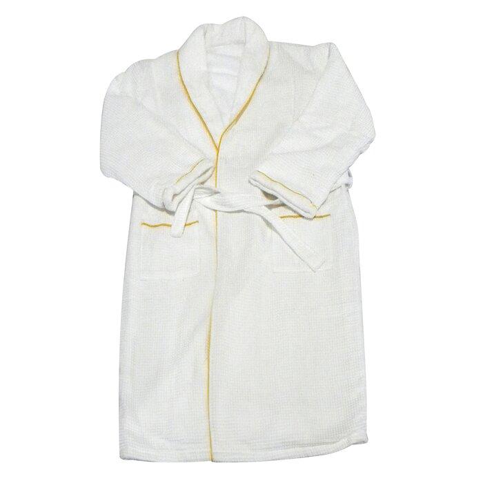 ed9478101e Radiant Saunas Spa and Bath European Weave Cotton Blend Terry Cloth Bathrobe    Reviews