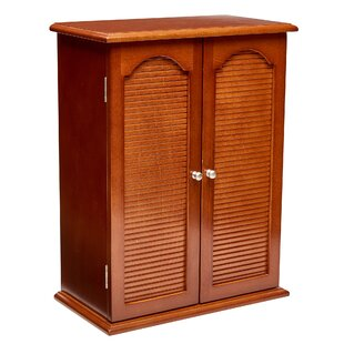 Charlton Home Johannes Wooden Free Standing Jewelry Armoire