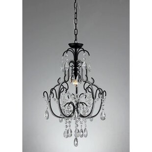 Bucklin 1-Light Crystal Pendant by House of Hampton