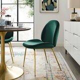 Jaynes Upholstered Velvet Side Chair by Mercer41